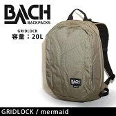 BACH BACKPACKS バッハバックパックス デイパック GRIDLOCK/mermaid/129577 2016SS