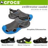 クロックス CROCS サンダル swiftwater sandal m スウィフトウォーターサンダル/メンズ クロックス/15041
