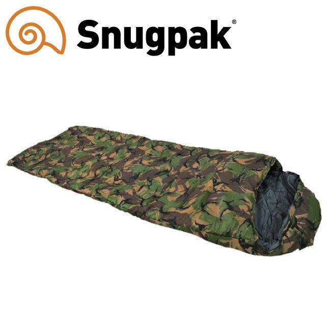 スナグパック 寝袋 スリーパーゼロ 寝袋 カモ (迷彩) [最低使用温度-7度]