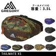 GREGORY/グレゴリー ウエストバッグ ボディバッグ テールメイトXS TAILMATE XS 日本正規品 メンズ レディース アウトドア ロゴ
