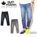 ジムマスター gym master パンツ デニムXスウェットクロップドパンツ G543337 定番
