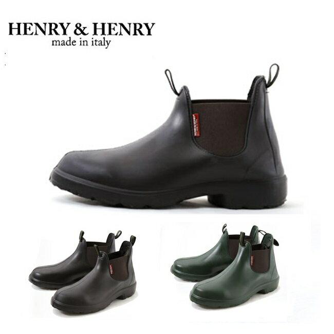 ヘンリー&ヘンリー ベン サイドゴアブーツ