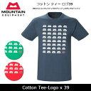 【メール便発送】MOUNTAIN EQUIPMENT/マウンテン イクイップメント Tシャツ Cotton Tee-Logo x 39 423763 【服】