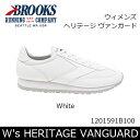【大特価】ブルックス BROOKS スニーカー ウィメンズ W's HERITAGE VANGUARD ヘリテージ ヴァンガード White 1201591B 日本正規品【靴】