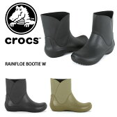 クロックス CROCS RAINFLOE BOOTIE W(レインフロー ブーティー Womens) レインブーツ レインシューズ ブーティー ウィメンズ レディース 女性用 長靴 203417 国内 正規品 【靴】