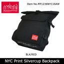 【日本正規品】 マンハッタンポーテージManhattanPortage NYC Print Silvercup Backpack MP1236NYC16AW 【...