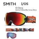 2017 スミス SMITH OPTICS ゴーグル I/OS ID Elena ID ElenaRed Sol-X Mirror/Blue Sensor Mi...