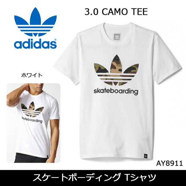 アディダス スケートボーディング Tシャツ CLIMA 3.0 CAMO TEE