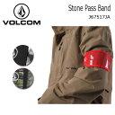 【スマホエントリー全品10倍】【メール便対応】2017 ボルコム VOLCOM チケットケース Stone Pass Band BLK/CAM/RED J675...