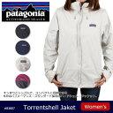 パタゴニア Patagonia ウィメンズ・トレントシェル・ジャケット W's Torrentsshell Jkt 83807 【服】 ジャケット 透湿性 防水性