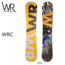 2017 WR ダブルアール スノーボード WRC 【板】
