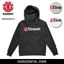 エレメント ELEMENT パーカー HORIZONTAL DWR AH022014 【服】撥水