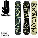 2018年モデル BATALEON/バタレオン スノーボード GLOBAL WARMER 【板】