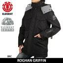 エレメント ELEMENT ジャケット ROGHAN GRIFFIN AH022773 【服】アウター 保温性 撥水性 通気性