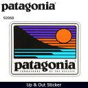 【ステッカー3000円以上購入で送料無料】パタゴニア Patagonia Up & Out Sticker 92068 【雑貨】 ステッカー シール 日本正規品