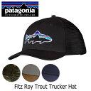 楽天SNB-SHOPパタゴニア Patagonia Fitz Roy Trout Trucker Hat フィッツロイ・トラウト・トラッカー・ハット 38008 【帽子】オーガニックコットン ファッション アウトドア フェス
