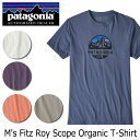 パタゴニア Patagonia メンズ・フィッツロイ・スコープ・オーガニック・Tシャツ M's Fi...