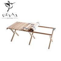 DRYAD ドリュアス ロールテーブル 52-1005NA 【アウトドア/机/折りたたみ】の画像