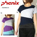 PHENIX フェニックス Tシャツ TRAVERSE S/S PH322TS72 NV/PU