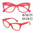 エントリーでポイント最大34倍 レビューを書くと500ポイント アランミクリ alain mikli メガネ 眼鏡 フランス製 メンズ レディース