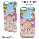 ヘンリベンデル iPhone6s スマホケース Henri Bendel ケース iPhone6 アイフォン6s アイフォン6 レディース [S20]