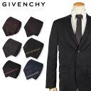 ジバンシー GIVENCHY ネクタイ メンズ イタリア製 シルク ビジネス 結婚式 ブラック ネイビー 黒