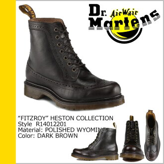 Dr. Martens Dr.Martens 7 holes boots dark brown leather men's