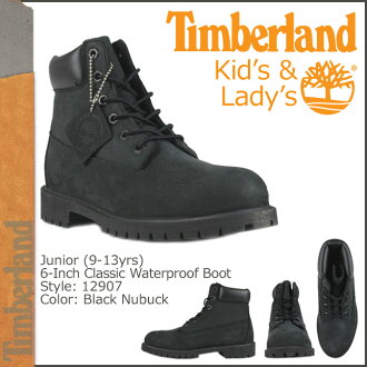 Timberland Timberland 6 inch waterproof boots 12907 6inch Premium Boot junior kids child ladies