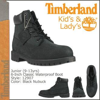 Timberland Timberland 6 inch waterproof boots 12907 6inch Premium Boot junior kids child ladies