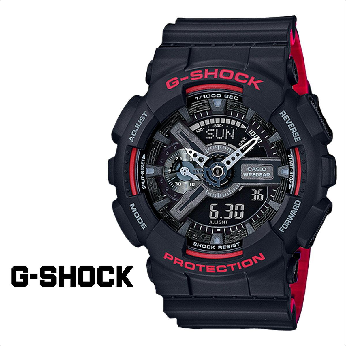 カシオ CASIO G-SHOCK 腕時計  GA-110HR-1AJF  ジーショック Gショック G-ショック  メンズ [3/11 再入荷]  CASIO正規代理店  初回交換 送料無料  ジーショック 時計 メンズ g-shock mini レディース Gショック 腕時計 正規  通販