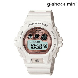 卡西歐CASIO g-shock mini GMN-691-7BJF手表[白×粉紅色]鐘表[3/5補充進貨女子男子][正規]