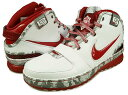 "6 nike NIKE ZOOM LEBRON 6""Ohio State"" WHITE RED nike zoom Revlon Ohio 【◆◆】 [authorized free shipping] [Father's Day]"