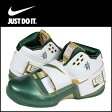 [SOLD OUT]送料無料 ナイキ NIKE ZOOM SOLDIER WHITE/DP FRST-MTLLC GLD (SVSM) ナイキ レブロンジェームス【◆◆】[ 正規 あす楽 ]