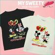 マイ スウィーティー MY SWEETY キッズ 半袖Tシャツ Mickey loves Minnie Tee Color 2カラー コットン ベビー服 子供服 あす楽 【SS20】