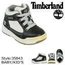 【訳あり】 ティンバーランド Timberland ベビー キッズ MERGE TD ブーツ マージ 35843 ブラック [S50] [返品不可]
