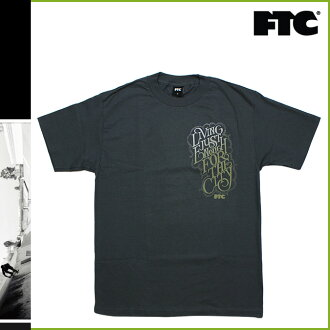 エフティーシー FTC short sleeve t-shirt in gray T-SHIRT tee shirt mens [12 / 28 new in stock] [regular]