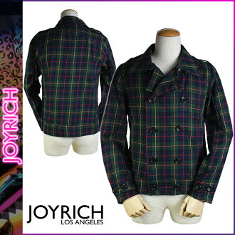 Mickey Mouse No1 JOYRICH long sleeve button shirt [Green] men's check SHIRT [1 / 31 new in stock] [regular]