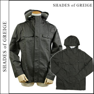 Shades of grey SHADES of GREIGE zip up jacket [Grey] men's JACKET [12 / 28 new in stock] [regular]