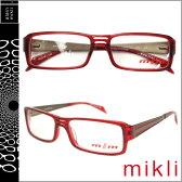 ミクリ mikli アランミクリ メガネ 眼鏡 レッド M0652 03 セルフレーム サングラス alain mikli メンズ レディース