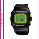 Free shipping point 10 times Casio CASIO G-SHOCK mini watch [the black X green ]GMN-550-1CJR men gap Dis [5/29 additional arrival] [authorized comfort tomorrow]