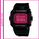 Free shipping point 10 times Casio CASIO G-SHOCK mini watch [black X pink] GMN-550-1BJR men gap Dis [6/6 additional arrival] [authorized comfort tomorrow]