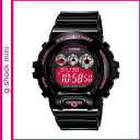 Free shipping point 10 times Casio CASIO G-SHOCK mini watch [black X pink] GMN-692-1JR men gap Dis [6/6 additional arrival] [authorized comfort tomorrow]