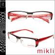 ミクリ mikli アランミクリ メガネ 眼鏡 M0806 05 ブラック レッド セルフレーム アランミクリ 眼鏡 サングラス メンズ レディース あす楽