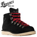 Danner /Danner/ mountain light [black X red] 30812-EE / Mountain Light Stark / suede / men boots suede cloth Made in USA [authorized tomorrow comfortable /] [Father's Day]