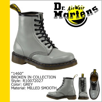 Dr. Martens Dr.Martens 1460 8 hole boots R10072027 BROKEN IN ミルドスムース leather mens Womens 8 EYE BOOTS