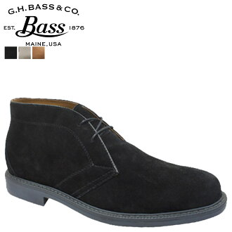 ジーエイチバス G... H... BASS chukka boots BELMONT Belmont CHUKKA BOOT leather men