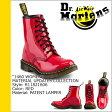 送料無料 ドクターマーチン Dr.Martens レディース 1460 WOMENS 8ホール ブーツ MATERIAL UPDATES パテント レザー メンズ R11821606 8EYE BOOTS レッド [3/28 追加入荷][ 正規 あす楽 ]