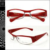 アランミクリ alain mikli メガネ 眼鏡 レッド RED-05 A0490 15 セルフレーム サングラス メンズ レディース