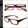 アランミクリ alain mikli メガネ 眼鏡 レッド RED-09 A0633 15 セルフレーム サングラス メンズ レディース あす楽