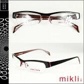 ミクリ mikli アランミクリ メガネ 眼鏡 ブラック パープル M0637 COL01 メタルフレーム alain mikli サングラス メンズ レディース